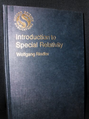 Introduction to Special Relativity: Wolfgang Rindler