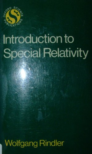 9780198531821: Introduction to Special Relativity