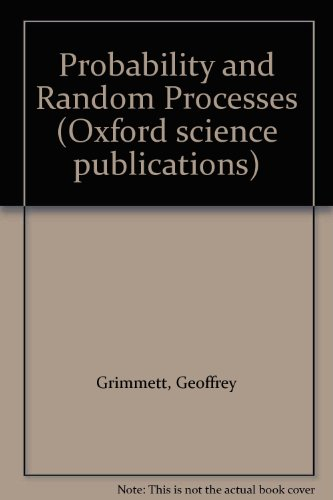 9780198531852: Probability and Random Processes (Oxford science publications)