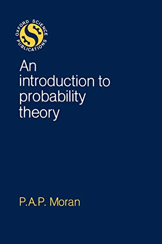 9780198532422: An Introduction to Probability Theory (Oxford Science Publications)