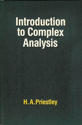 9780198532477: Introduction to Complex Analysis