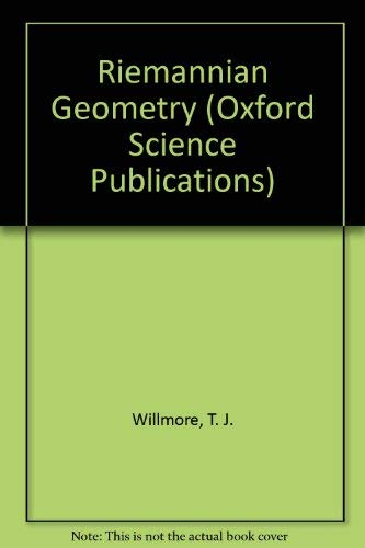9780198532538: Riemannian Geometry (Oxford Science Publications)