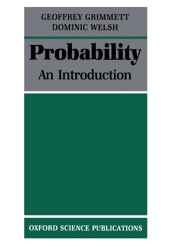 9780198532644: Probability: An Introduction (Oxford Science Publications)