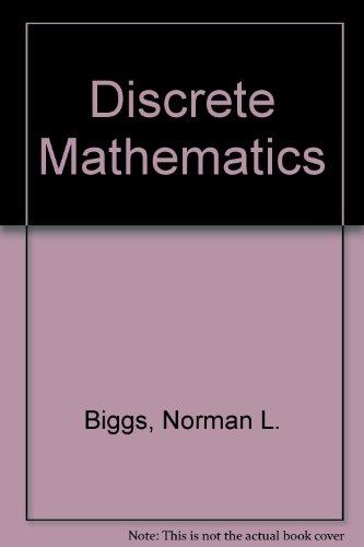 9780198532668: Discrete Mathematics