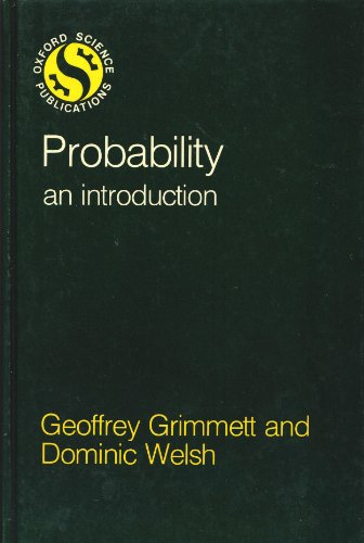 9780198532729: Probability: An Introduction