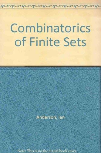 9780198533672: Combinatorics of Finite Sets