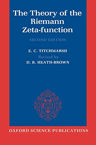 9780198533696: The Theory of the Riemann Zeta-Function