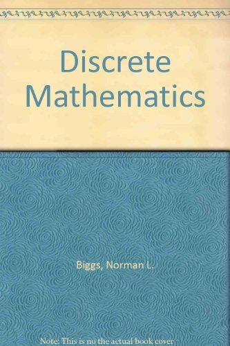 9780198534266: Discrete Mathematics (Oxford science publications)