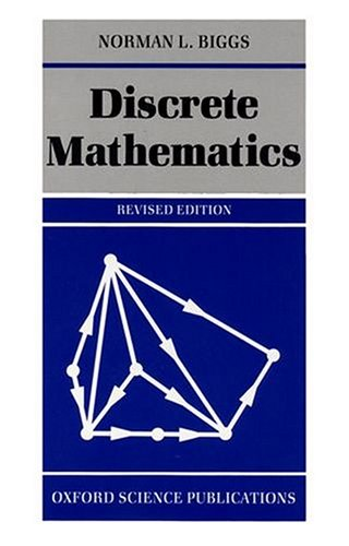 9780198534273: Discrete Mathematics (Oxford Science Publications)
