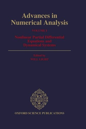 9780198534389: Advances in Numerical Analysis: Volume I: Nonlinear Partial Differential Equations and Dynamical Systems (Oxford science publications)