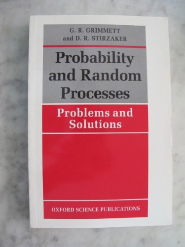 9780198534488: Probability and Random Processes: Problems and Solutions