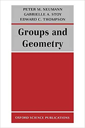 9780198534525: Groups And Geometry