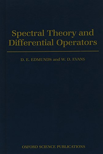 9780198535423: Spectral Theory and Differential Operators (Oxford Mathematical Monographs)
