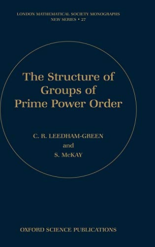 9780198535485: The Structure of Groups of Prime Power Order