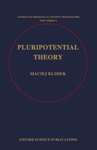 9780198535683: Pluripotential Theory