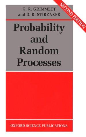 9780198536659: Probability and Random Processes