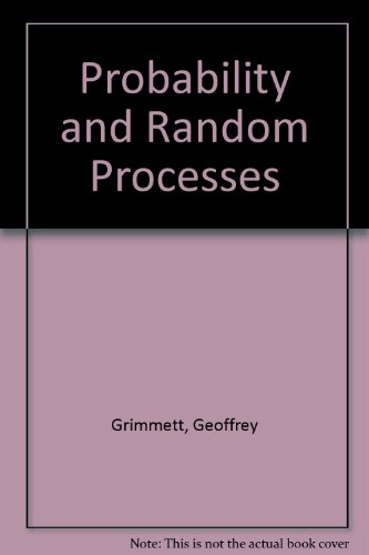 9780198536666: Probability and Random Processes