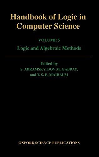 9780198537816: Handbook of Logic in Computer Science 5