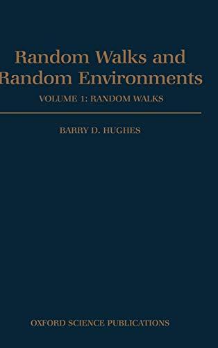 9780198537885: Random Walks and Random Environments: Volume 1: Random Walks