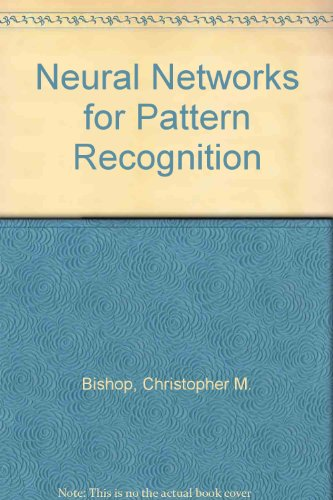 9780198538493: Neural Networks for Pattern Recognition
