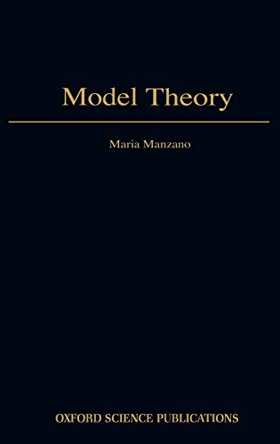 9780198538516: Model Theory (Oxford Logic Guides)