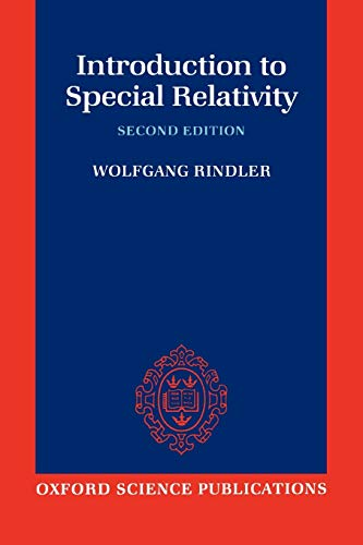 9780198539520: Introduction to Special Relativity