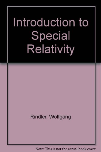 9780198539537: Introduction to Special Relativity