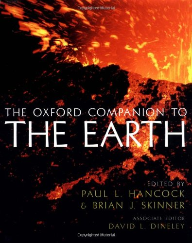 9780198540397: Oxford Companion to the Earth