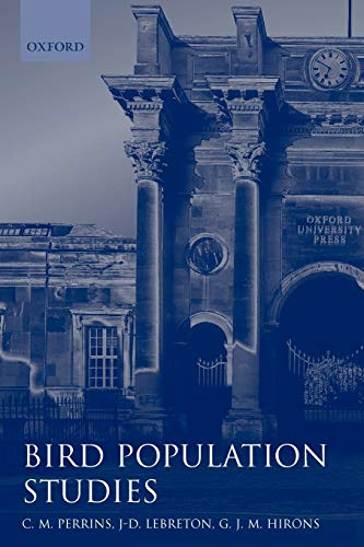 9780198540823: Bird Population Studies: Relevance to Conservation and Management (Oxford Ornithology) (Oxford Ornithology Series)