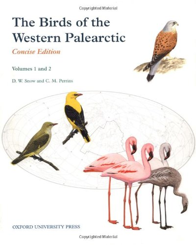 9780198540991: The Birds of the Western Palearctic: 2 Volume Set: Volume 1, Non-Passerines; Volume 2, Passerines