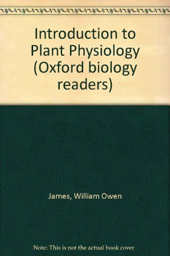 9780198541219: Introduction to Plant Physiology
