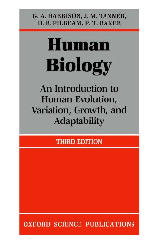 HUMAN BIOLOGY. An introduction to human evolution,: Harrison, G.A. et