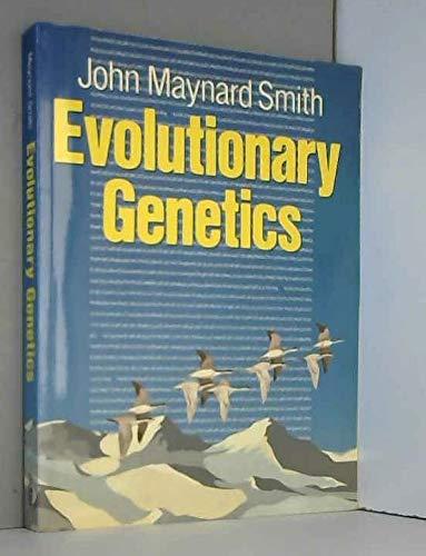 9780198542155: Evolutionary Genetics