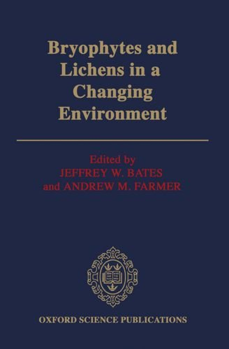 9780198542919: Bryophytes and Lichens in a Changing Environment (Oxford Science Publications)