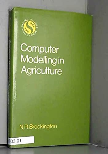 9780198545231: Computer Modelling in Agriculture