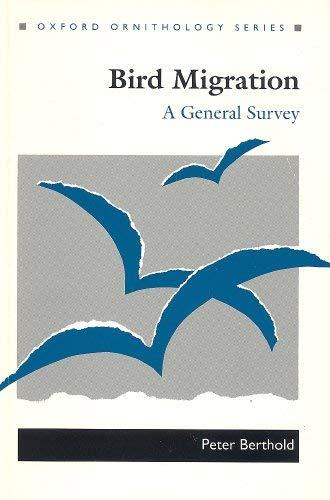 9780198546917: Bird Migration: A General Survey (Oxford Ornithology Series)