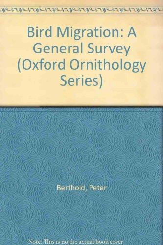 9780198546924: Bird Migration: A General Survey (Oxford Ornithology Series)