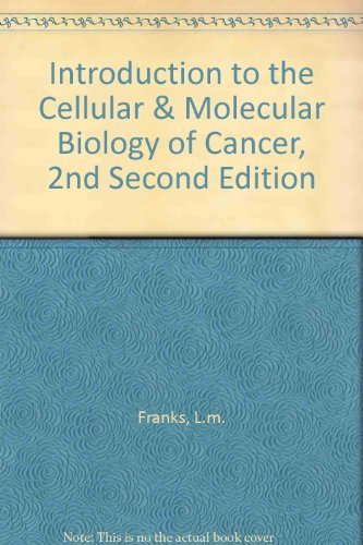 Introduction to the Cellular and Molecular Biology: L.M. Franks