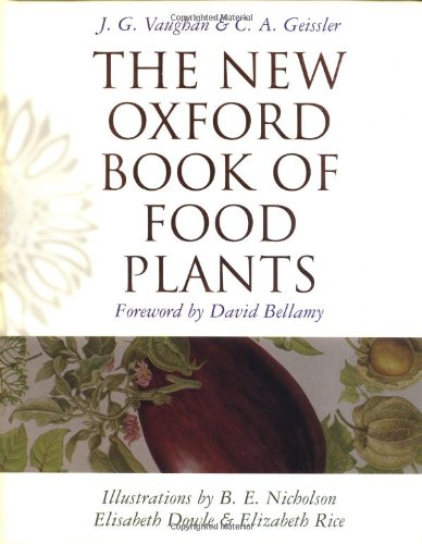 9780198548256: The New Oxford Book of Food Plants