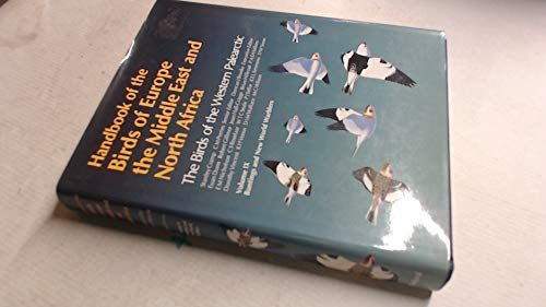 9780198548430: Handbook of the Birds of Europe, the Middle East and North Africa: Buntings and New World Warblers v.9: The Birds of the Western Palearctic: Buntings and New World Warblers Vol 9