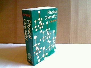9780198551485: Physical Chemistry
