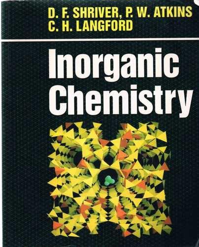 9780198552314: Inorganic Chemistry