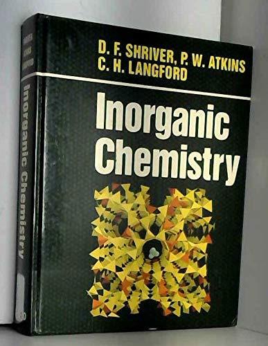 9780198552321: Inorganic Chemistry