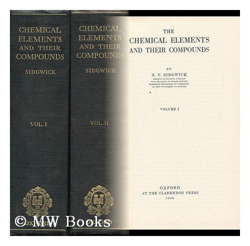 9780198553151: The Chemical Elements and Their Compounds