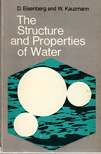 9780198553465: Structure and Properties of Water