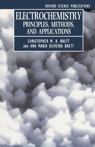 9780198553885: Electrochemistry: Principles, Methods, and Applications (Oxford Science Publications)