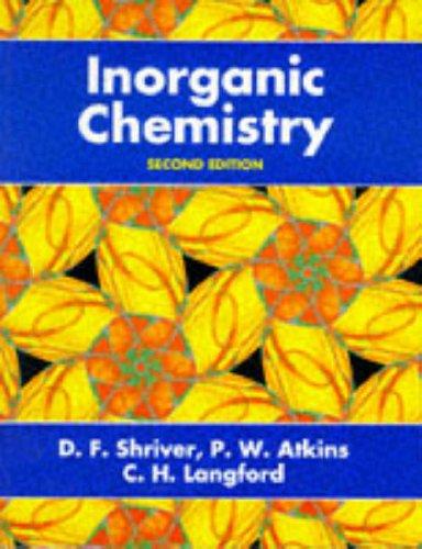 9780198553960: Inorganic Chemistry
