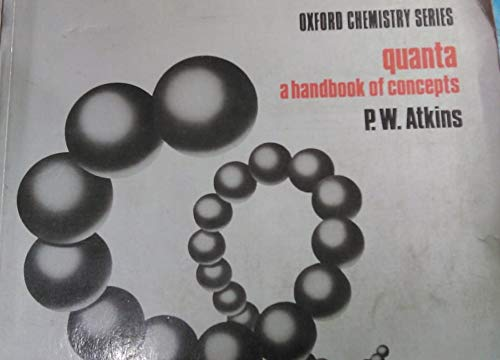 9780198554943: Quanta: A Handbook of Concepts (Oxford Chemistry Series)