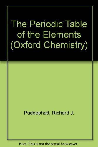 9780198555155: The Periodic Table of Elements (Oxford Chemistry Series)