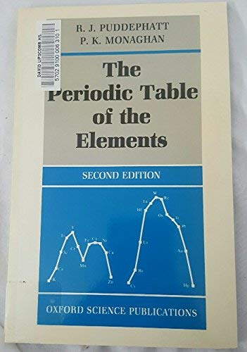 9780198555162 the periodic table of elements oxford chemistry 9780198555162 the periodic table of elements oxford chemistry series urtaz